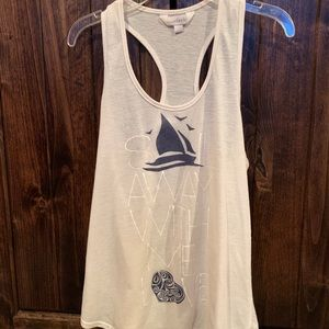 CHARMING CHARLIE SALE AWAY WITH ME LOVE TANK TOP